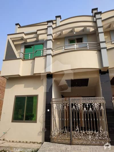 A Brand New Double Story Beautiful Elegant Luxarious Finished House Available For Sale in Hamza Garden SGD Islamabad Road Sargodha