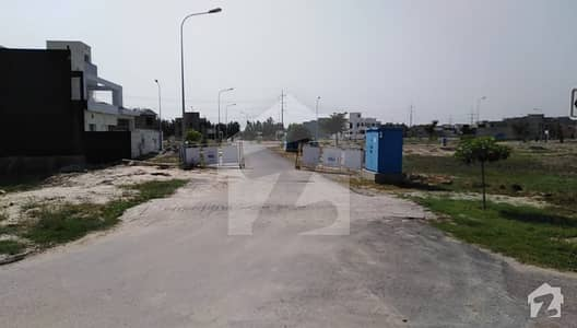 Gondal Estate Offer 8 Marla Plot Near Park And Surrounded Homes For Sale In DHA 11 Rahbar Phase 1 - Block A