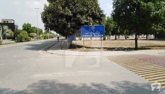 10 Marla Developed Plot For Sale In Jinnah Block - Bahria Town Lahore