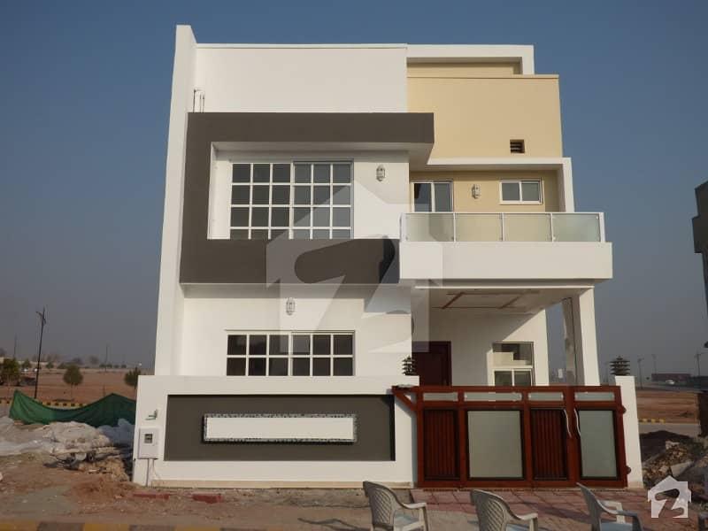 Beautiful Semi Corner 5 Marla House With Basement In Sector H