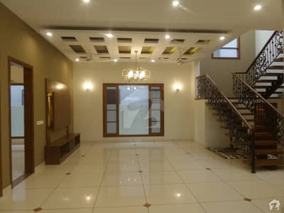500 Square Yard Semi Furnished Bungalow For Sale On B-Street DHA Phase 5 Karachi