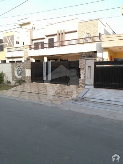 NFC 1 Kanal Brand New Double Storey Designer Bungalow Is Available For Sale