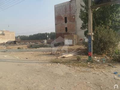 Commercial Corner Plot For Sale At Imran Akram Villas, Okara