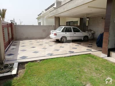 All real picture 23Marla double unit corner house for sale in Dha