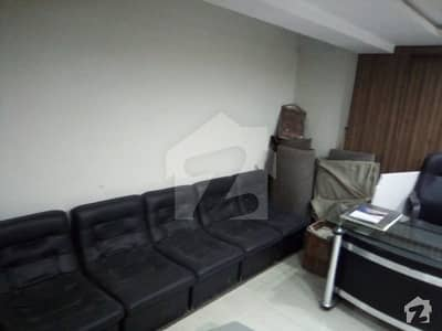 15x23 Furnished Mezzanine Office Available In Blue Area