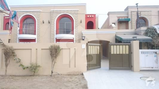 10 Marla House Is Available For Sale On Commercial 110 Feet Road