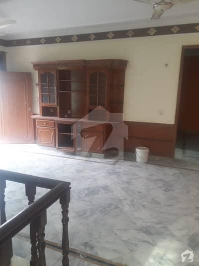 10 Marla Upper Fully Marble Tiled Separate Gate Corner House For Rent