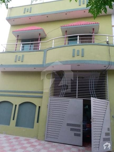 Prime Location Newly Made 5 Marla House Fully Covered 5 Minutes Drive From Railway Station