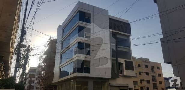 Brand New Office Building 100 Sq Yard For Sale In Main Shamsheer Saba Commercial Area