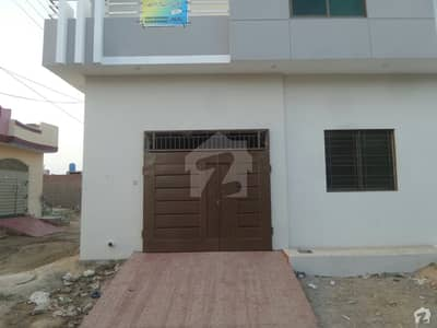 Double Storey Beautiful Corner House For Sale At Al Rehman Town Okara