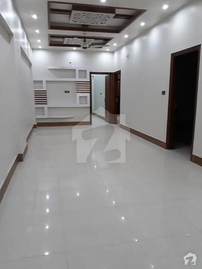 luxury brand new 3bed d d with lift and carparking available at main khalid bin waleed road