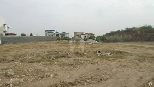 1 Kanal Hill Top Plot Front Back Open Street No. 75 With 42 Marla Extra Land Not Paid Available For Sale