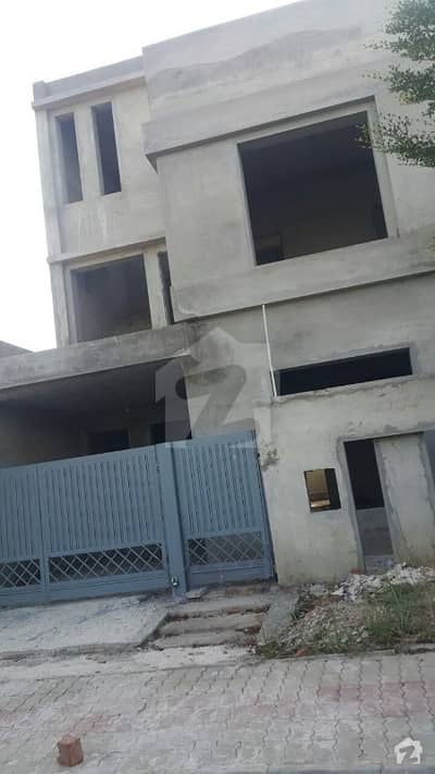 5 Marla Gray Structure House For Sale In Bahria Education Medical City B Block