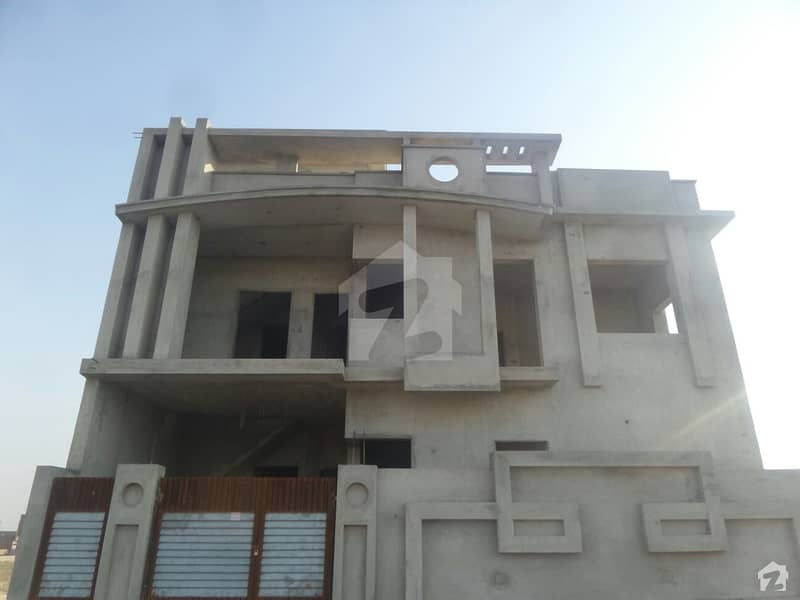 Double Storey Brand New Beautiful Corner House For Sale At Faisal Villas Okara