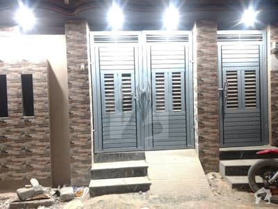 Newly Constructed Single Storey House Is Available For Sale In North Karachi  Sector 7d2 Anda Mor Karachi