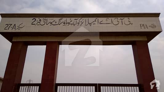 Residential Plot Is Available For Sale In PIA Society
