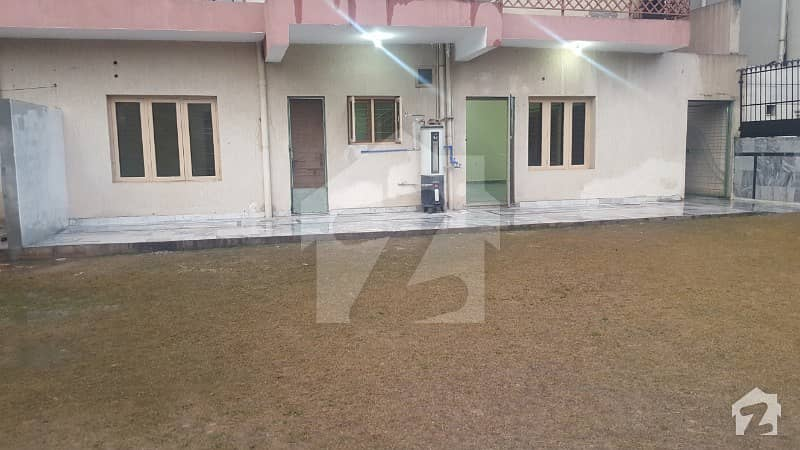 Out Class Lower Ground For Rent  35 Marla Extra Land Servant Room