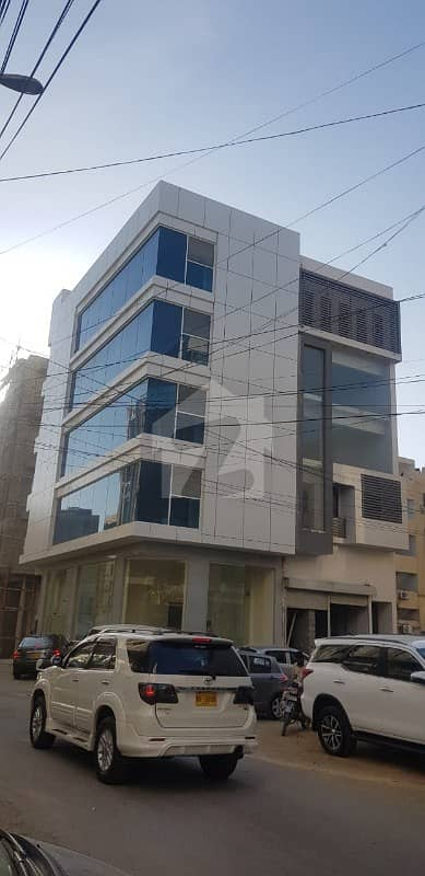 Brand New 100 Sq Yard Office Building With Lift For Sale In Bukhari Commercial Near Main Khayabaneittehad