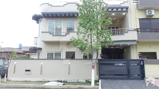 E11 Double Story Brand New  Modern Design 25x60 36 feet front with extra land Corner House For Sale
