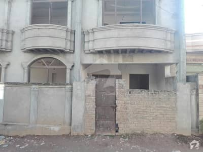 Corner Gray Double Storey House For Sale Tulsa Road Raja Akram Colony Lain  7 Rawalpindi