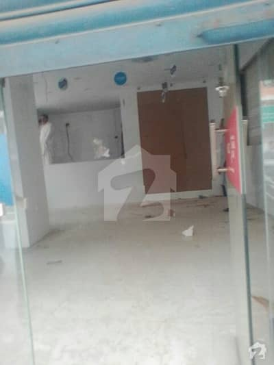 Defence Phase 5 - 850 Sq Ft Shop With 100 Sq Ft Basement For Rent