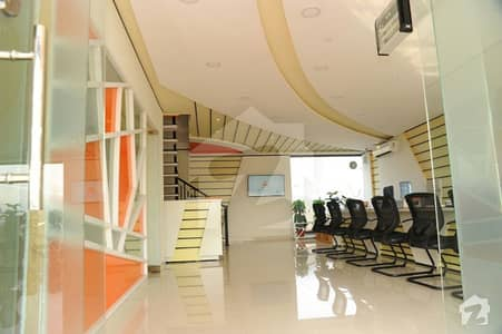 Fully Furnished Double Storey Office For Sale In Bahria Town Lahore In Reasonable Price