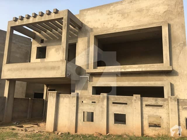 11 Marla DHA 3 Islamabad Gray Structure Home
