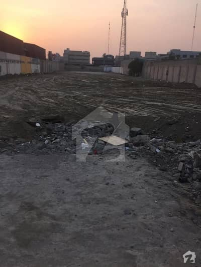 Plot For Sale  Korangi Industrial Area