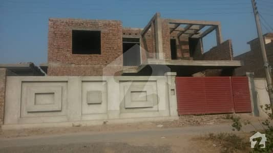 Structure House Is Available For Sale In Haq Bahoo Town