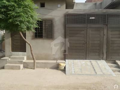 Single Storey Beautiful Corner House For Sale At Faisal Colony, Okara
