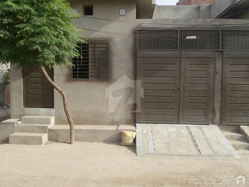 Single Storey Beautiful Corner House For Sale At Faisal Colony, Okara