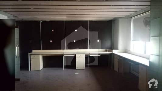 Semi Furnished Office Space For Sale In City Tower Gulberg Lahore