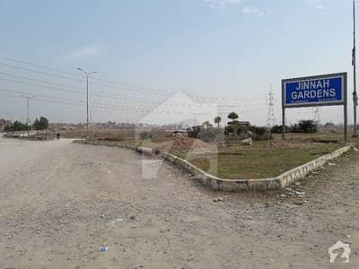 Jinnah Garden Islamabad - 7 Marla Plot For Sale - St # 51