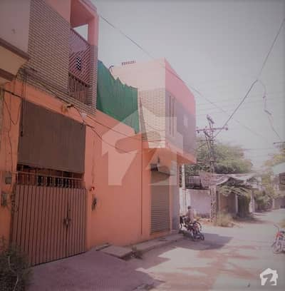 10 Marla Double Storey House With Five Shops