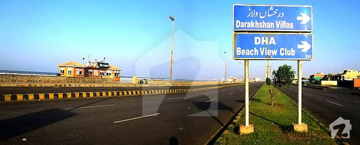 Investor Deal At Sahil 300 Sq Yards Central Location Construction Allowed Plot In Dha Phase 8