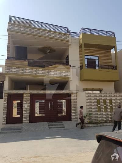 گلشنِ معمار - سیکٹر ٹی گلشنِ معمار گداپ ٹاؤن کراچی میں 6 کمروں کا 10 مرلہ مکان 2.4 کروڑ میں برائے فروخت۔