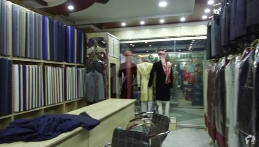 Ground Floor Shop For Sale In Main Murree Road Malikabad Shopping Mall