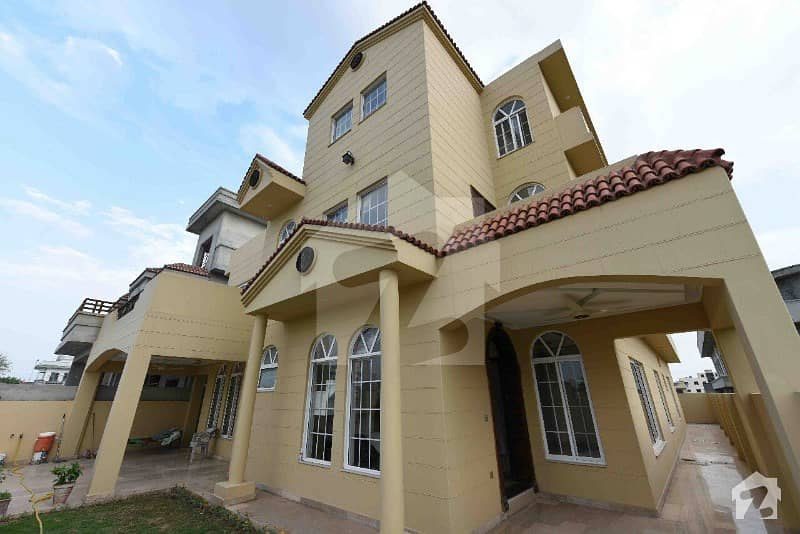 Corner 1 Kanal Brand New House For Sale In Jinnah Gardens Islamabad