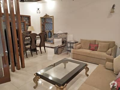 10 Marla Furnished Bungalow Available For Rent  In DHA Phase 5 L Block