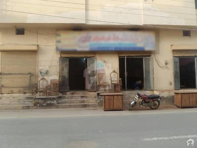 Double Storey Beautiful Corner Commercial Building For Sale At Fateh Town, Okara