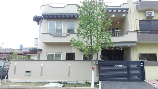 E-11/1 Double Story Brand New  Modern Design 25x60 36 feet front with extra land Corner House For Sale