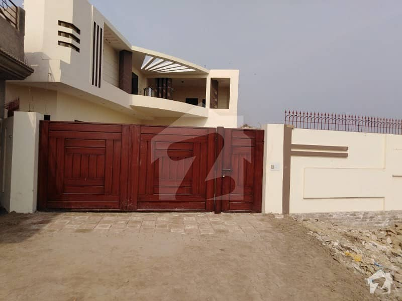 Double Storey House Is Available For Sale In Kazmi Town