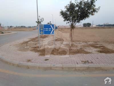 1 Kanal Corner Plot Back Of Main Boulevard Talha Block Bahria Town