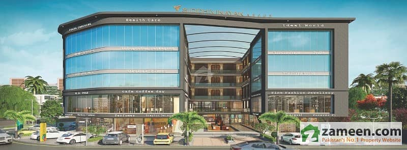 Commercial Shop For Sale In Business Center Midway Bahria Town Karachi