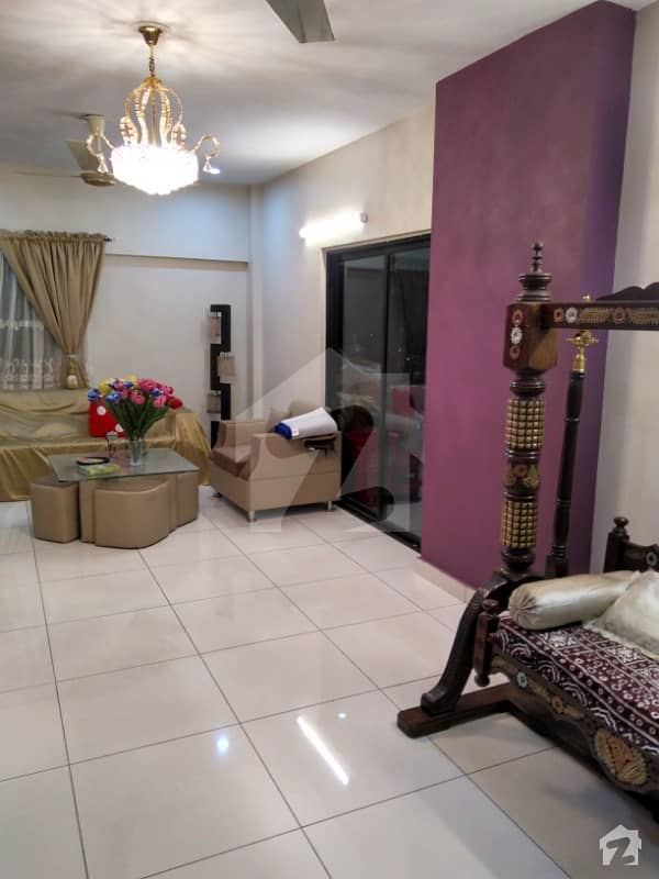 West Open Corner Flat For Sale In King Palm Residency