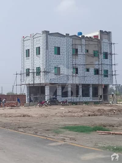 2 Marla Commercial Plot Kamran Block Is Available In Sa Garden Phase 2 For Sale