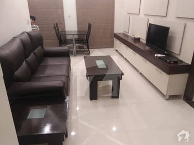 1 Bed Fully Furnished Apartment For Rent In Iqbal Block Bahria Town Lahore