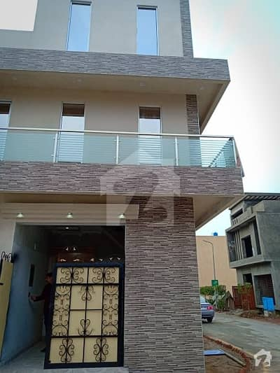 3 Marla Brand New House For Sale In Alkabir Town Lahore