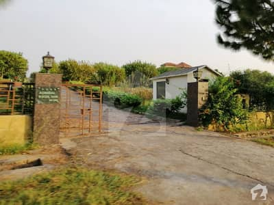 20 Kanal Farm House Plot On Prime Location In Sector A