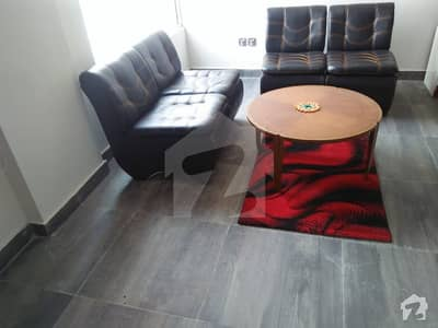 1 Bed Fully Furnished Apartment For Rent In Quaid Block Bahria Town Lahore